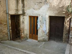 Three Tatti doors in Maremma Italy