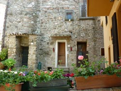 Three Tatti doors in Tuscany Maremma Italy
