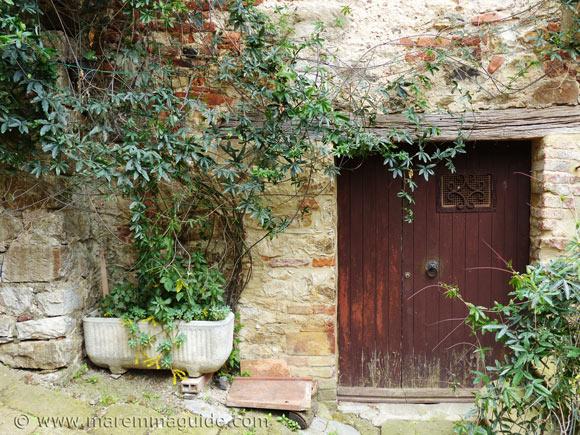 Old Tuscany door.