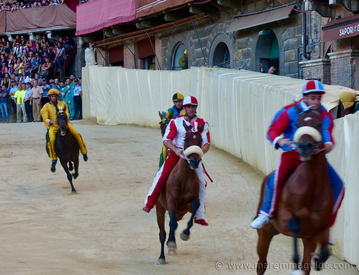 The palio races of Siena.