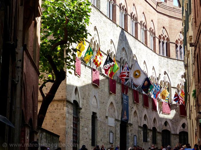 Siena Tuscany Italyon Palio day.