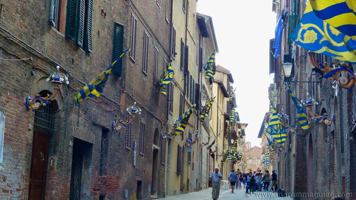 Siena off the tourist route.