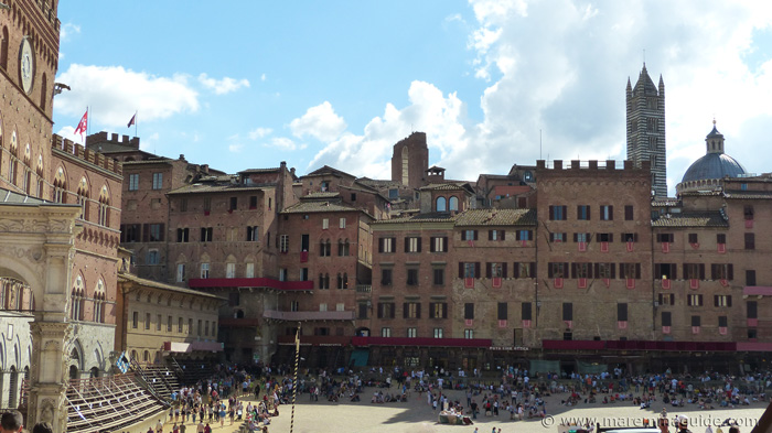 The city of Siena Italy.