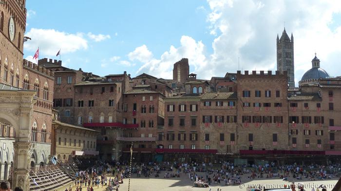 The city of Siena Italy.