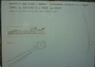 Tomba del Diavolino II, Vetulonia, Maremma Tuscany Italy