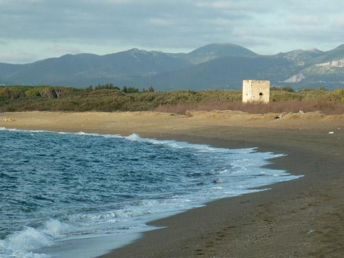 la Torraccia beach spiaggia Maremma Tuscany Italy