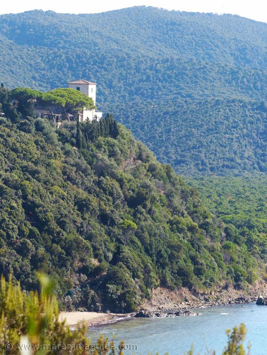 Torre Civette in Maremma Tuscany.