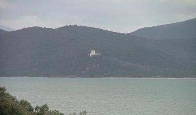 View of Torre Civette, Castiglione della Pescaia, Maremma