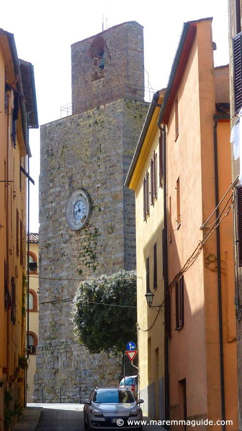 Torre del Candeliere Massa Marittima, Tuscany