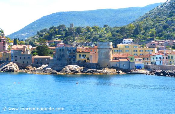 Torre del Saraceno Isola del Giglio Tuscany