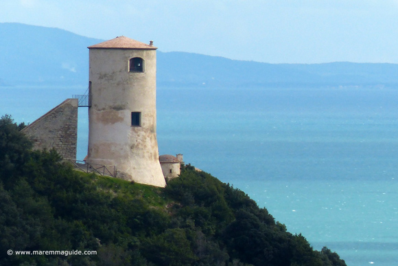 Maremma castles to stay in