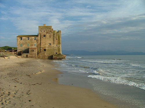 Torre Mozza and beach