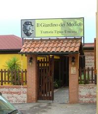 Restaurants in Valpiana: Trattoria Il Giardino dei Medici