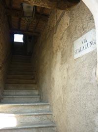Via Scalalunga Travale Maremma Italia