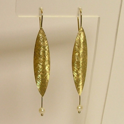 Italian 18k Yellow Gold Earrings