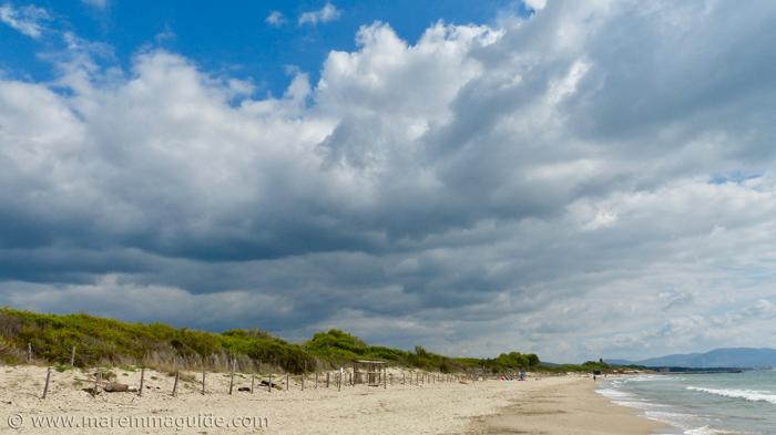 Spiaggia Carbonifera: Piombino beaches Tuscany