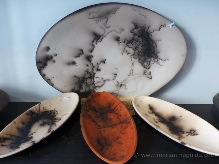 Mara Funghi ceramica Sorano