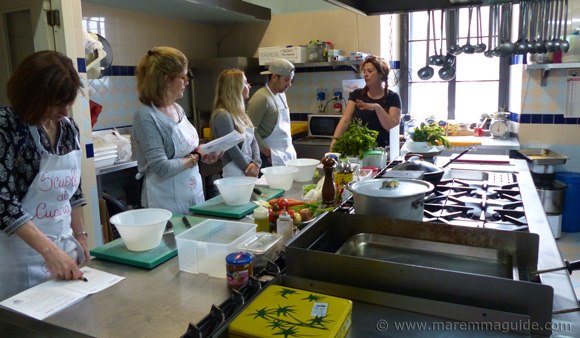 Cooking classes Tuscany Italy