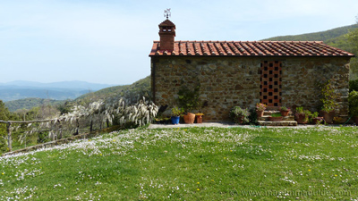 Tuscany cottages with a pool in Maremma Italy.