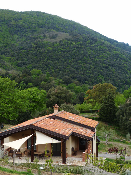 Tuscany cottages in Maremma.