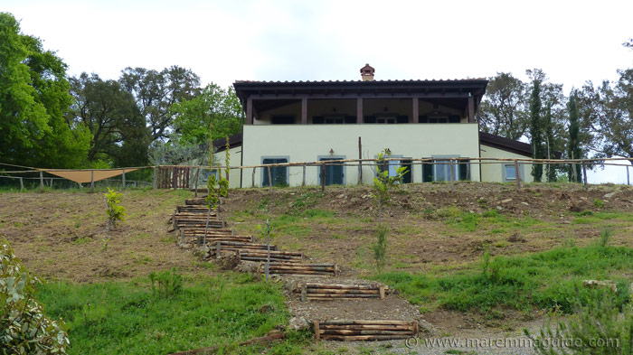 Tuscany villa holiday home.