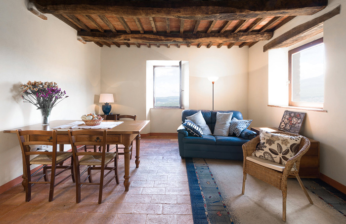 Tuscany hill town home for sale in Maremma Italy