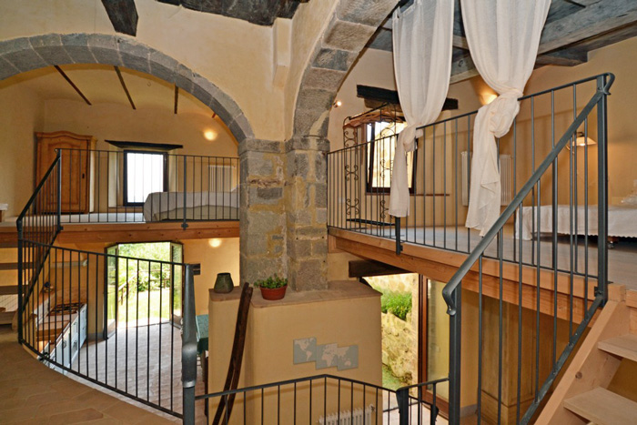 Restored ancient Tuscany olive mill: apartment for sale in Maremma.
