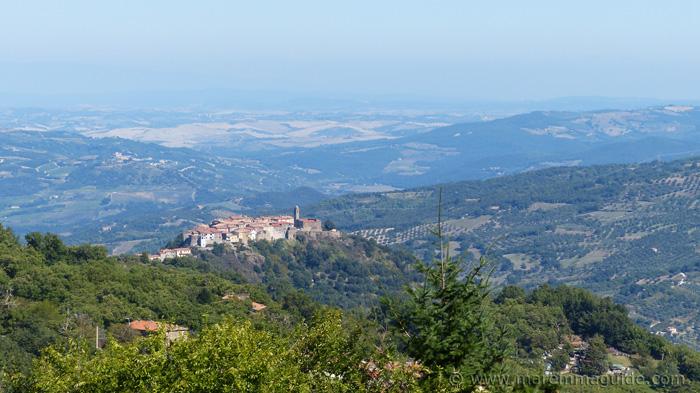 Montegiovi from Montelaterone.