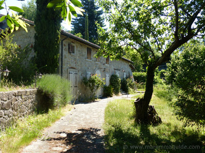 Old Tuscany mill house for sale