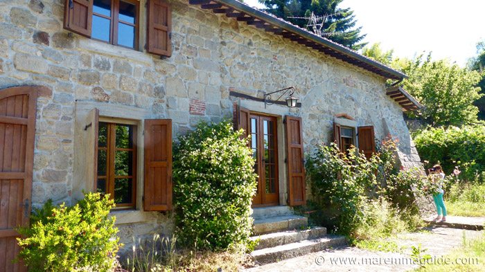 Southern Tuscany property for sale: old water mill.