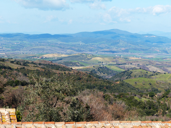 Scansano real estate: the view from the Maremma farmhouse