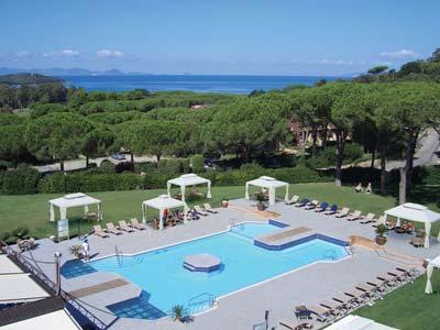 Tuscany Spa hotel: Golf Hotel Punta Ala, Maremma Italy