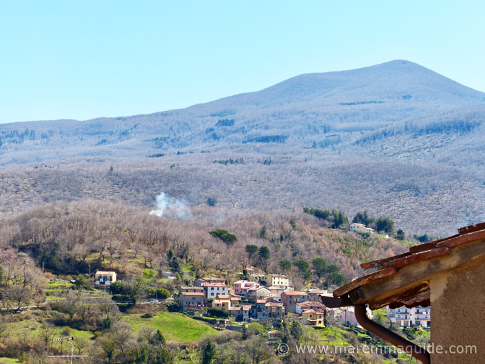 View of Monte Amiata.