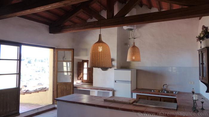 Tower kitchen.