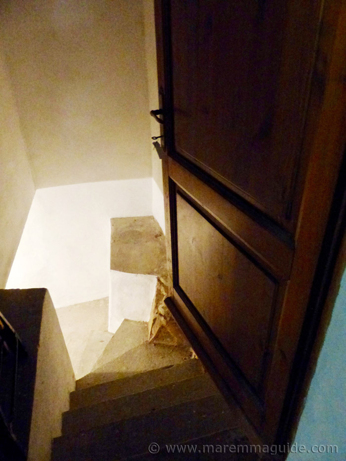 Cellar stairs.