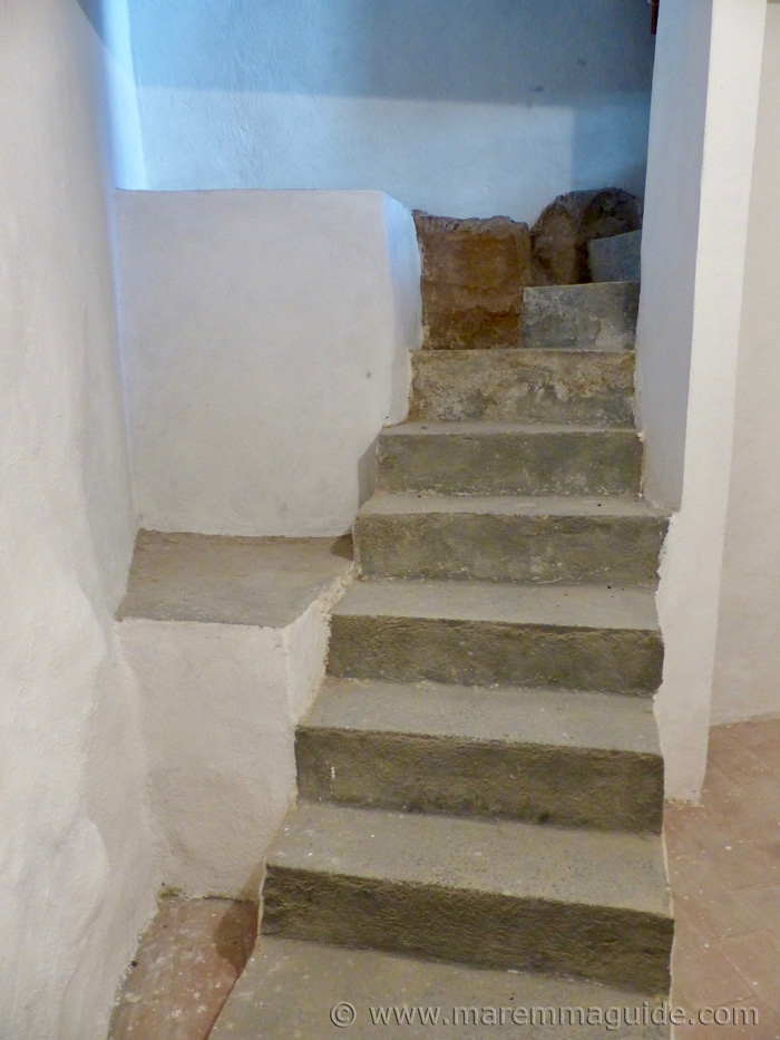 Stairs to cellar.