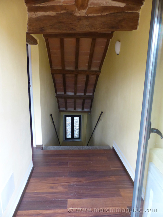 Stairwell to third floor.