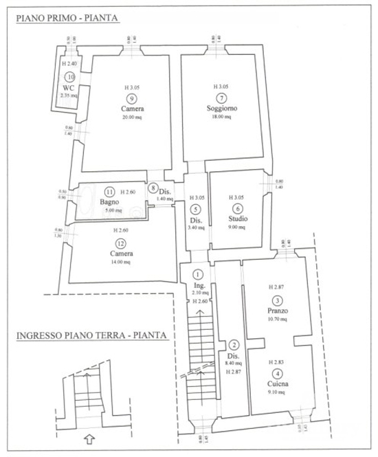 Tuscany town house plans.