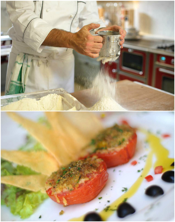 Tuscany villa cooking classes