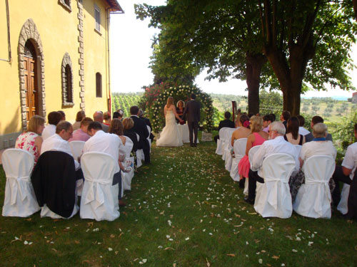 Tuscany villa wedding Italy