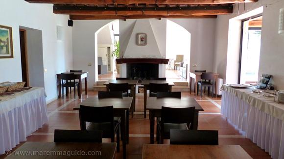 Tuscany winery accommodation