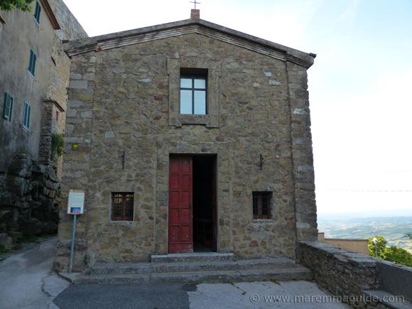 Chiesa di Santa Maria delle Grazie Vetulonia.
