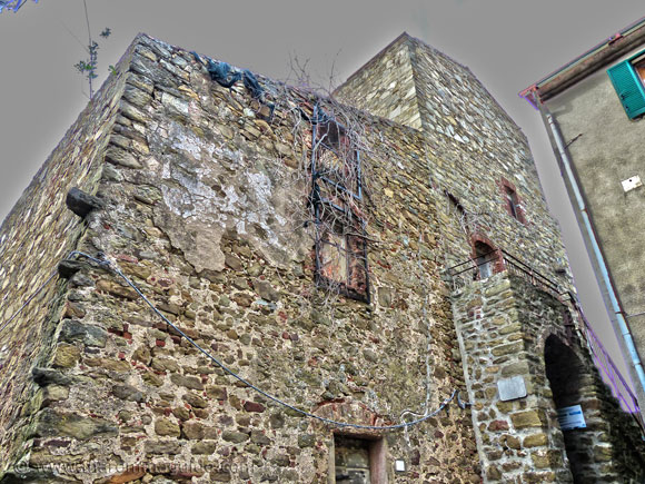 Vetulonia: remains of 8th century medieval towr
