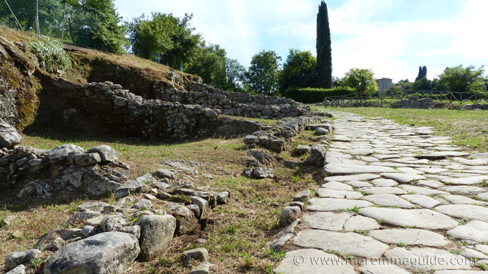 Vetulonia: the Etruscan-Roman Hellenistic district 3rd to 2nd century BC