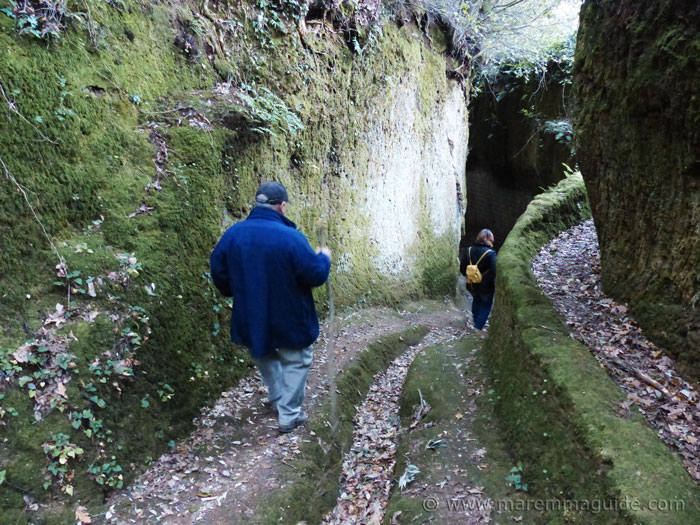 Vie Cave Grosseto Maremma Tuscany