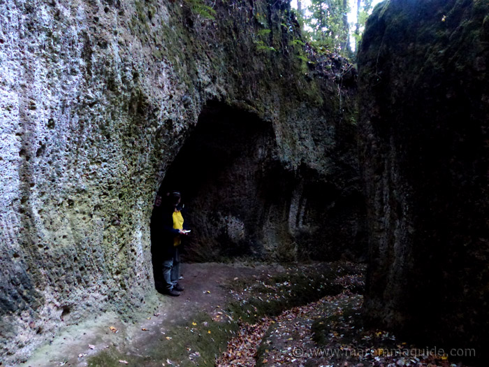 Vie Cave Sorano Maremma