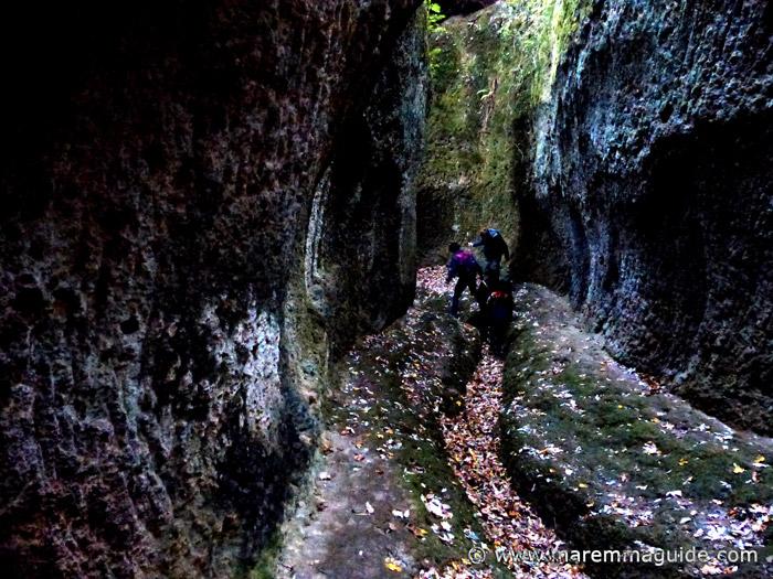 Vie Cave trekking Sorano