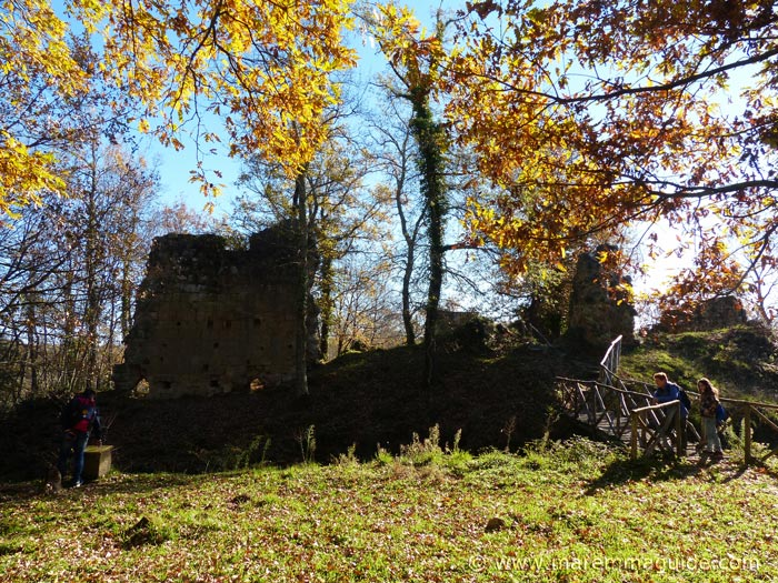 Vitozza medieval castle