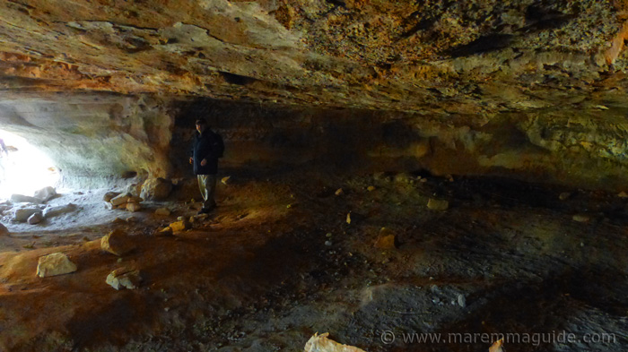 Vitozza Italy cave dwelling