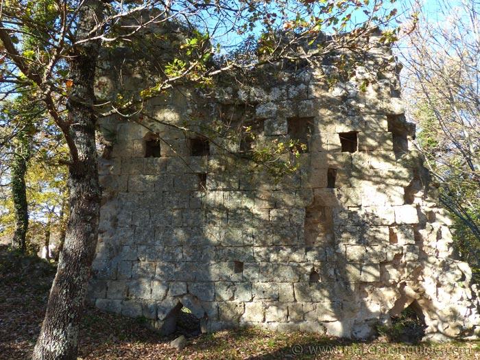 Viotzza Sorano castle